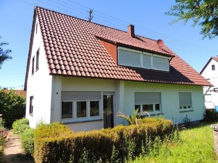 """""""Familien aufgepasst! - freist. 2-FH mit großem Garten in Ergenzingen"""""""