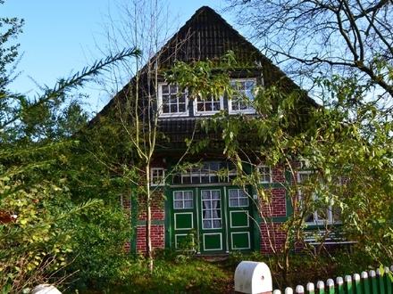 Kaufen Sie ein Stück Bremen Norder Geschichte: Fachwerkhaus im Dornröschenschlaf