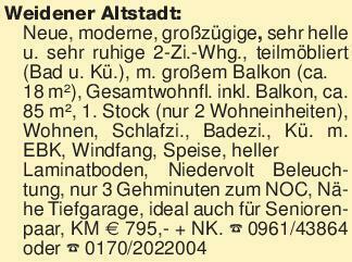 Weidener Altstadt: Neue, moder...