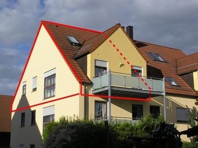 3 ZKB ca. 95 m² 01.02.2020 n.VB Nette Maisonette in Untermeitingen für...
