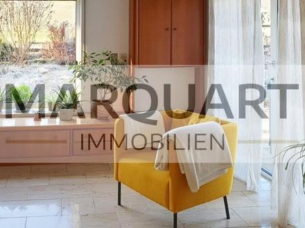 Große, altersgerechte Wohnung im Außenbereich, Terrasse, Wintergarten