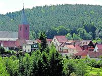 Esthal ist ein Walddorf mit Anschluss