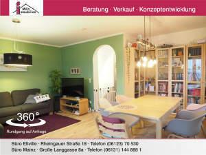 Echte Hausalternative: Große Maisonette-Wohnung mit Garten und Ausbaureserve