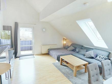 Schicke 3-Zimmer-Dachgeschoss-Wohnung mit Balkon in Coburg
