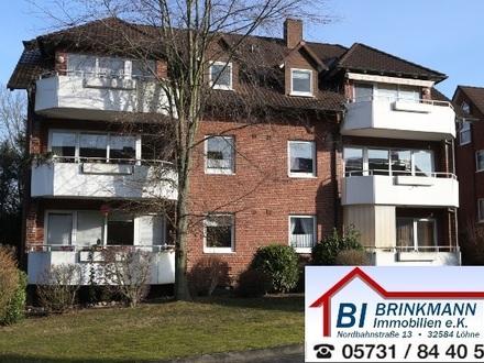 Löhne Gohfeld - gemütliche Dachgeschosswohnung in einem erstklassig gepflegten Haus!