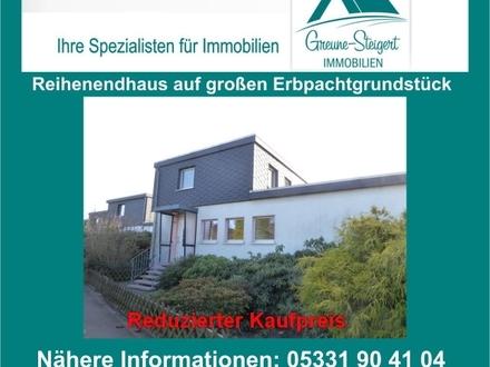 *** Reihenendhaus mit zwei Garagen und großes Erbpachtgrundstück in Wedtlenstedt