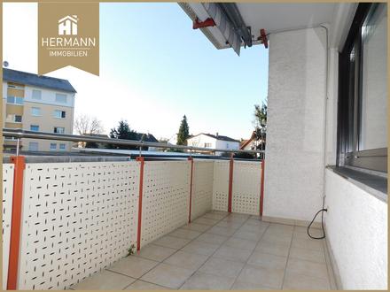 Großzügige 3 Zimmer-Wohnung im Hochparterre mit Loggia in Erlensee!