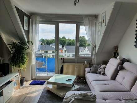 3 Zi.-Dachgeschosswohnung mit Balkon in Dessau- Alten !