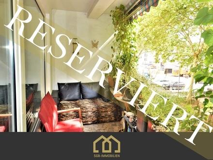 Reserviert: Am Wall / Tolle City Wohnung mit 3 Zimmern und Süd-Loggia
