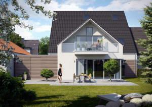 Sentruper Höhe - Neubau-EG-ETW im Zweiparteienhaus