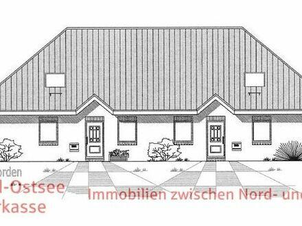 Neubau von 2 Doppelhaushälften in Rantrum, die ebenerdiges Wohnen ermöglichen!