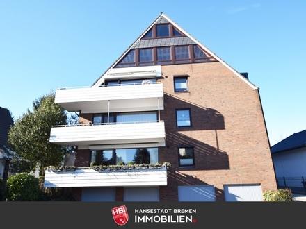 Burg Grambke / 1-Zimmer-Apartment in ruhiger Lage mit Blick ins Grüne