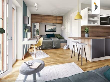 Kompromissloser Qualitätsanspruch in bester Citylage - 1,5-Zimmer-Wohnung mit zwei Dachterrassen