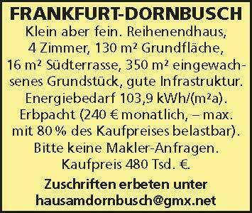 FRANKFURT-DORNBUSCH Klein