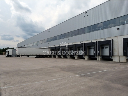 Logistikzentrum + + Nähe A44 / A57
