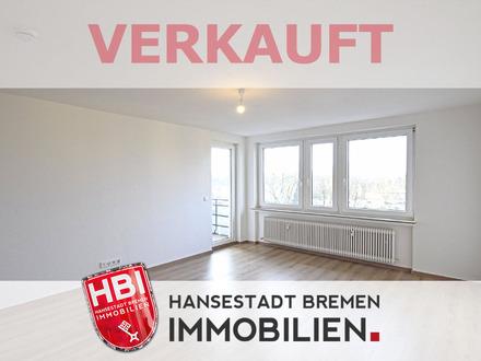 Huchting / Erstbezug nach Modernisierung - Helle 3-Zimmer-Wohnung mit schöner Sonnenloggia