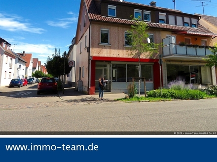 Wohn-und Geschäftshaus mit Garage in Mitten der Kirchheimer Vorstadt