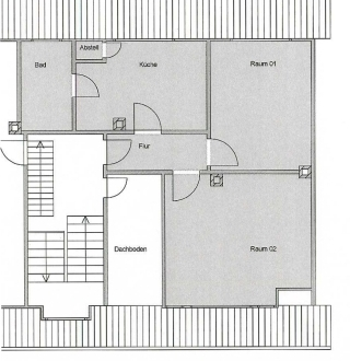Tolle Dachgeschoss-Wohnung mit BALKON nähe Prinzenpark