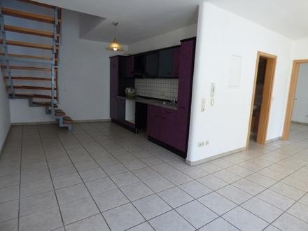 Vier Zimmer mit viel Platz: Maisonette-Wohnung