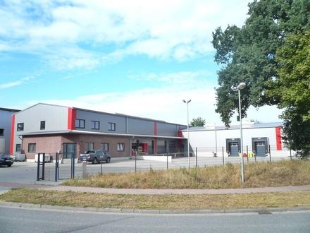 beheizbare Lagerhalle mit Gefahrgutlager und Büroanbau im Speckgürtel Hamburgs