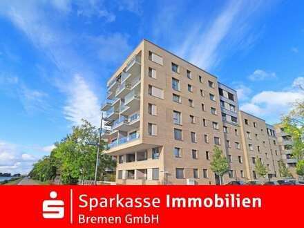 Moderne Eigentumswohnung in der Überseestadt - direkt an der Weser