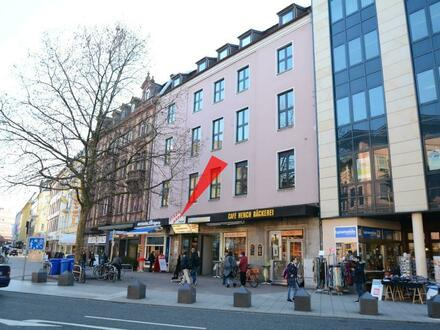 Provisionsfrei: Vieseitig nutzbare Verkaufsfläche gegenüber HBF/Ecke Frohsinnstraße