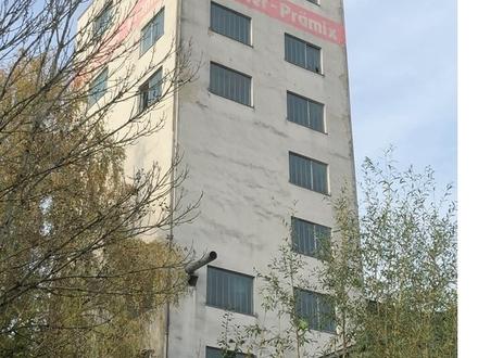 Hoch hinaus ! Industrieturm in Schwanenstadt