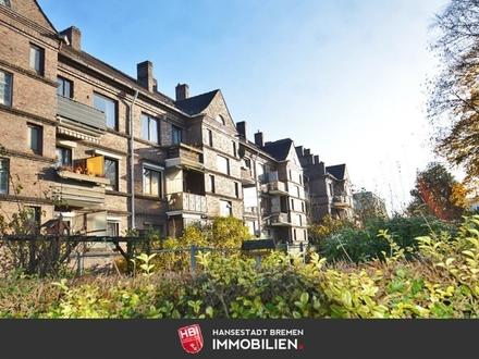 Hastedt / Erstbezug nach Modernisierung: Individuelle 3-Zimmer-Wohnung mit Balkon