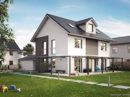 LAYER HAUS AG: Schön gelegenes FamilyHAUS in Friedberg (projektierte Neubau)