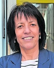 Ortsvorsteherin Stefanie Gerstner
