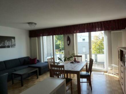 Möbliertes Appartement mit Balkon in Südwestlage!