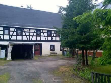 Denkmalgeschütztes Bauernhaus in Oberplanitz