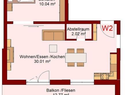 Barrierefreie und seniorengerechte Wohnung im Erdgeschoss