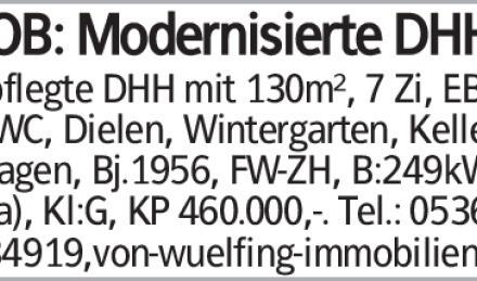 Haus in Wolfsburg (38440) 130m²