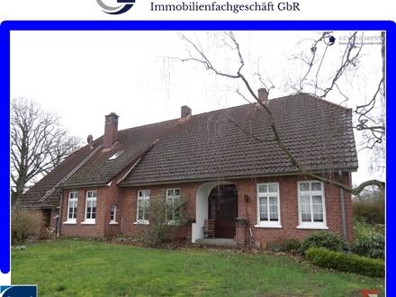 geräumige Erdgeschosswhg. mit gr. Grdst. u. 0,5 ha Grünland in Torsholt