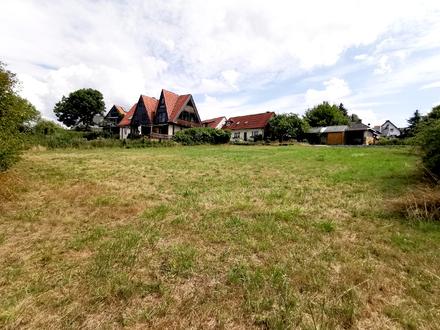 1.300 m² Baugrundstück mit leichter Hanglage