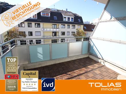 Sonne im Herzen! Reizende 3,5-Zimmer-Wohnung mit EBK, 2 Balkonen, Keller, zzgl. Duplex-Stellplatz