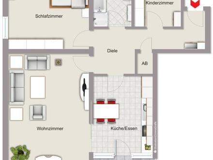 Lichtdurchflutete 3 Zimmerwohnung in Nürnberg West
