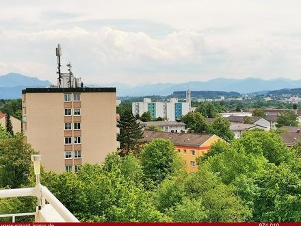 Kempten: Schicke, sonnige Wohnung mit Blick in die Berge und die Umgebung!