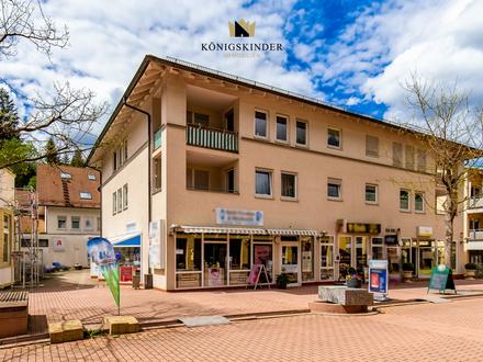 Vermietete Gewerbeeinheit im Zentrum von Bad Liebenzell als langfristige renditestarke Kapitalanlage