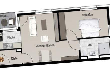 Betreute Seniorenwohnung im Schlosscarree