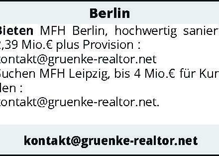 Berlin - Bieten MFH