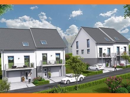Rohbau steht bereits: Doppelhaushälfte mit Garage, ruhige Lage und doch mittendrin!