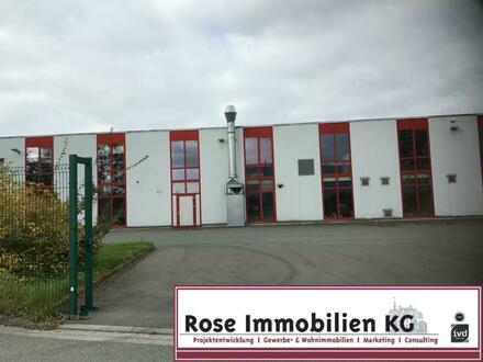 ROSE IMMOBILIEN KG: Teilflächen! - Montage-Produktion mit Kränen und Verwaltung.