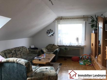 Zwei Zimmer Dachgeschosswohnung in Stieghorst