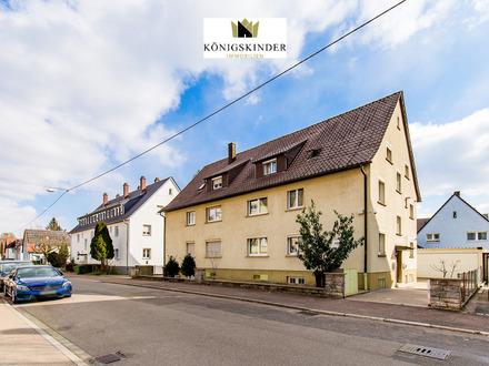 Ausergewöhnliches 1-3 Familienhaus mit Doppelgarage in Stuttgart/ Mühlhausen