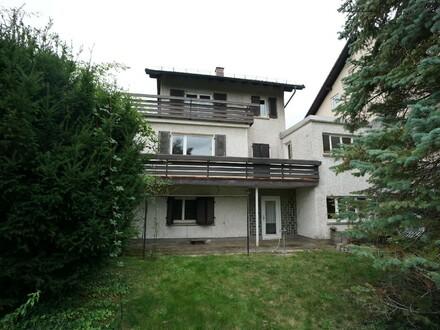 Ma-Casterfeld: Einfamilienhaus mit schönem Ausblick auf den Stengelhofweiher