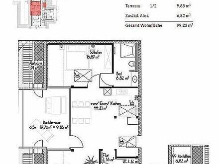 Exklusive 2-Zimmer-Neubauwohnung