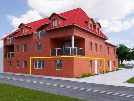 Neubau - Erdgeschosswohnung in zentrumsnaher Lage von Meppen