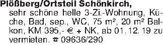Plößberg/Ortsteil Schönkirch,s...